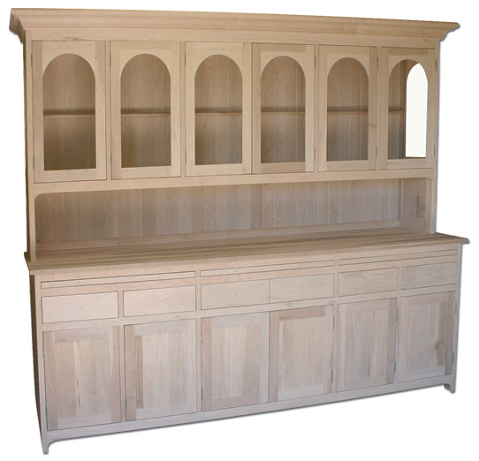 6-Door Hutch & Buffet