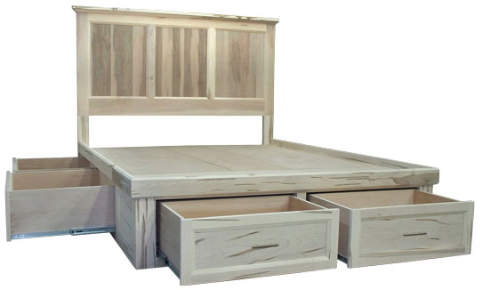 Algonquin Queen 6 Drawer Condo Bed